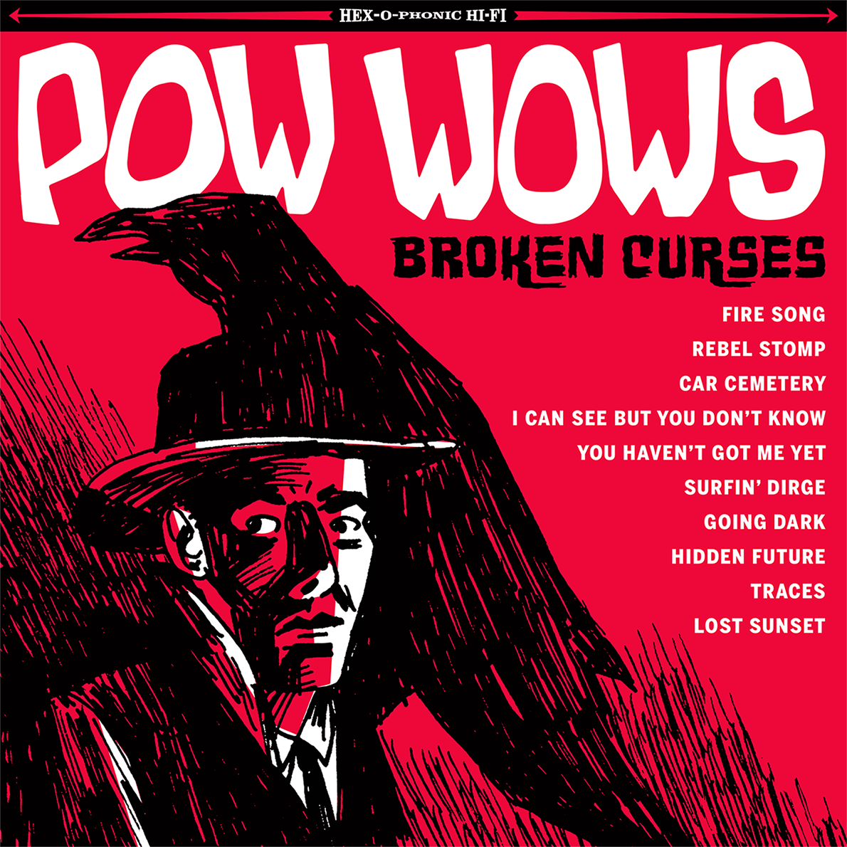 "A capa do disco ""Broken Curses"""